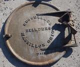 Early Russell Steam Engine Boiler Door.