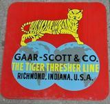 Gaar Scott Tin Sign
