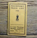 J.I. Case Machinery Price List