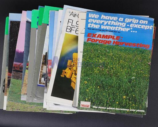 20 Assorted Deutz-Allis Tractor Dealership Brochures