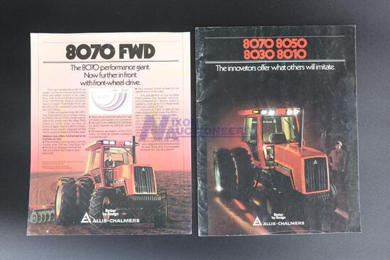 Two All-Chalmers Tractor Brochures