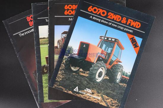 Four Allis-Chalmers Tractor Dealership Brochures