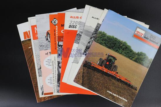 Ten Assorted Allis-Chalmers Implement Brochures