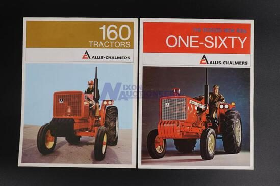 Two Allis-Chalmers Tractor Brochures
