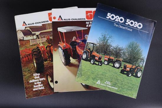 Allis-Chalmers 5020/5030 Diesel, 5040 & 5050 Tractor Brochures