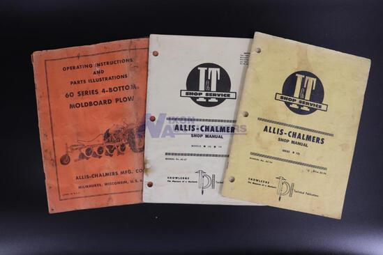 Three Allis-Chalmers Shop Manuals