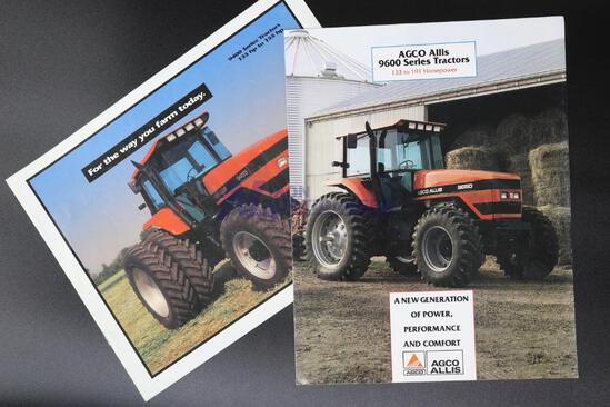 AGCO Allis 9400 and 9600 Series Tractor Dealership Brochures