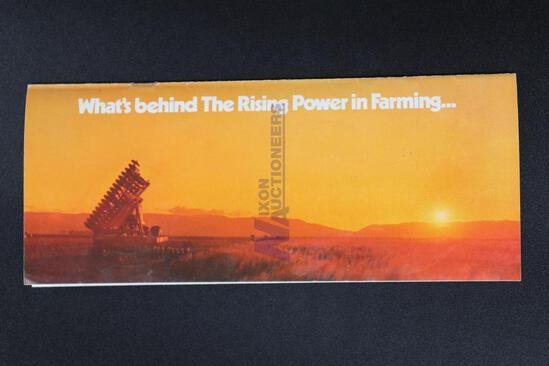 "Allis-Chalmers ""What's Behind The Rising Power in Farming"" Advertising Brochure"