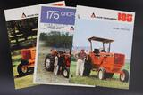 Allis-Chalmers 185 Diesel and Two 175 Tractor Brochures