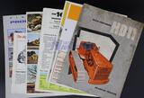 Seven Assorted Allis-Chalmers Crawler Tractor Brochures