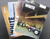Four Assorted White Brochures