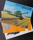 John Deere Combine and Windrower Brochures