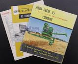 Assorted John Deere Combine Brochures