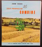 John Deere 45 Self-Propelled Combine