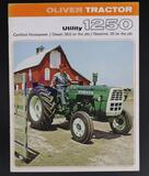 Oliver Utility 1250 and Oliver 1450 Dealership Brochures