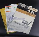 Four Assorted Oliver Brochures