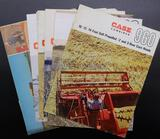 Case Combine and Windrower Brochures