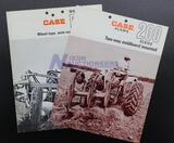 Assorted Case Plow Brochures