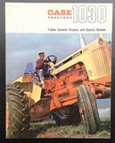 Case 1030 7-Plow General Purpose and Special Model Tractors Brochure