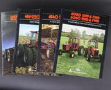 Four Assorted Allis-Chalmers Tractor Dealership Brochures