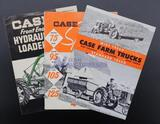 Assorted Case Equipment Brochures