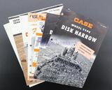 Seven Case Brochures - Harrows, Disc Plows and Field Tillers