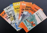 Eight Assorted Case Brochures - Harrows, Plows, Disk Plow, Spike Tooth Harrows and Roller Packers