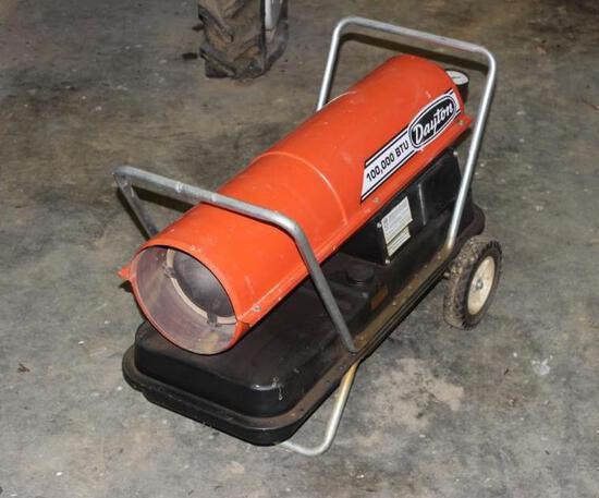 Dayton 100,000 BTU Heater