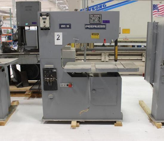 Peerless Vertical Band Saw