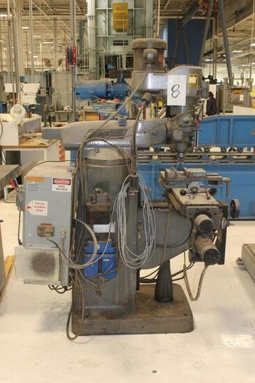 Bridgeport Milling Machine with EZ-Trak Plus
