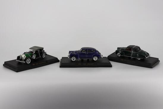 SpecCast. 1939 Lincoln, 1934 Duesenberg, 1941 Plymouth