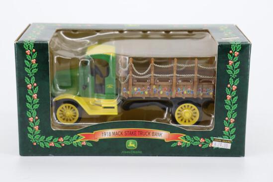 Ertl 1918 Mack Stake Truck Bank