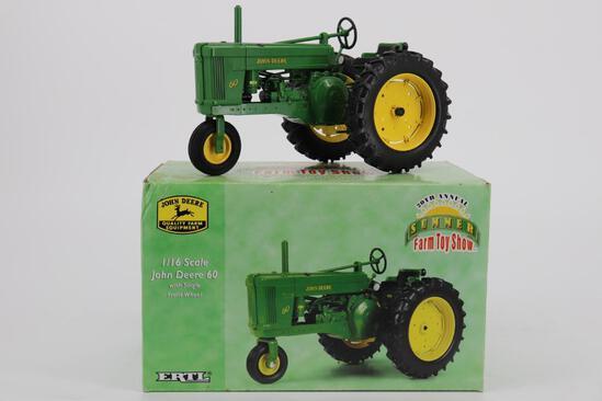 1/16 Ertl 20th Annual Summer Farm Toy Show John Deere 60