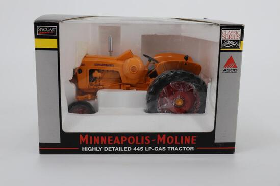 1/16 Spec Cast Highly Detailed Minneapolis-Moline 445 LP Gas Tractor