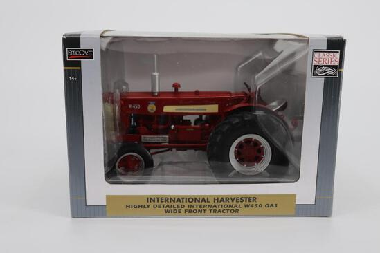 1/16 Spec Cast Highly Detailed International Harvester W450 Gas Wide Front End
