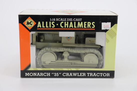 "1/16 Spec Cast Allis Chalmers Monarch ""35"" Crawler Tractor"