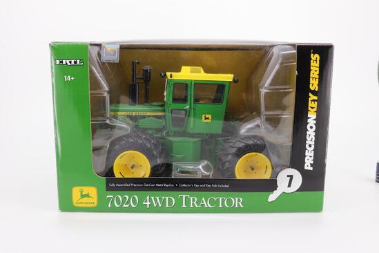 1/16 Ertl Precision Key Series John Deere 7020 4WD Tractor
