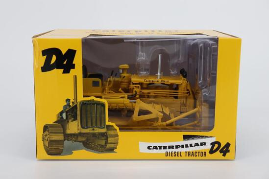 1/16 Spec Cast Caterpillar D4 Tractor with No. 4S Bulldozer