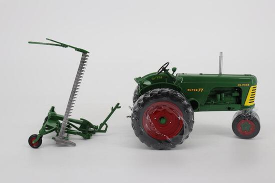 1/16 Spec Cast Oliver Super 77 with No. 82 Mower - Official Tractor 2006 Summer Farm Toy Show