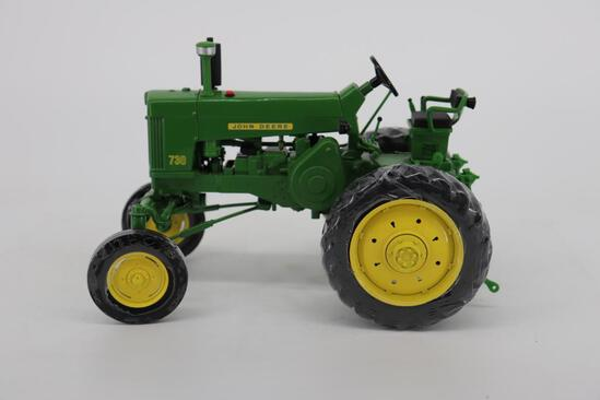 1/16 Ertl John Deere 730 Hi-Crop - Official Show Toy Two-Cylinder Expo XXI