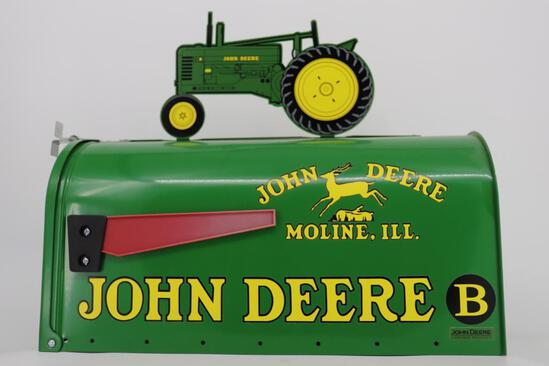 John Deere Model B Mail Box - Never Used