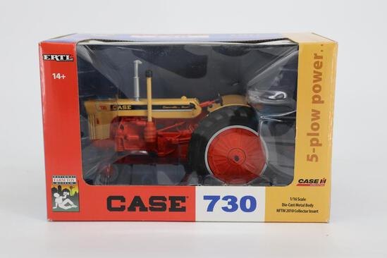 1/16 Ertl Case 730 - National Farm Toy Museum 2010 Collector Insert