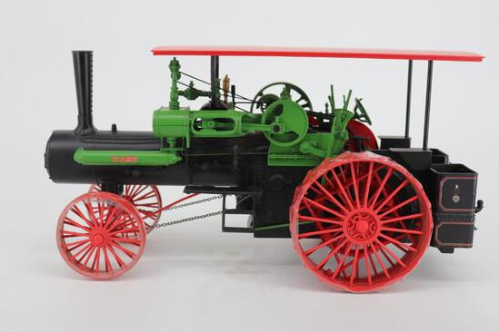 Ertl Millennium Farm Classics Case Steam Traction Engine with the RARE RED Canopy