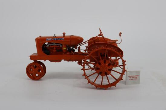 Franklin Mint Allis-Chalmers WC Tractor on Steel Wheels