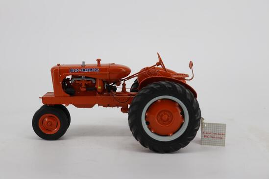 Franklin Mint Allis-Chalmers WC Tractor on Rubber Tires