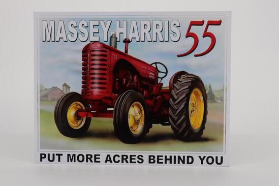 Massey-Harris Metal Sign