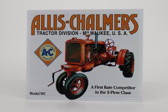 Allis-Chalmers Metal Sign