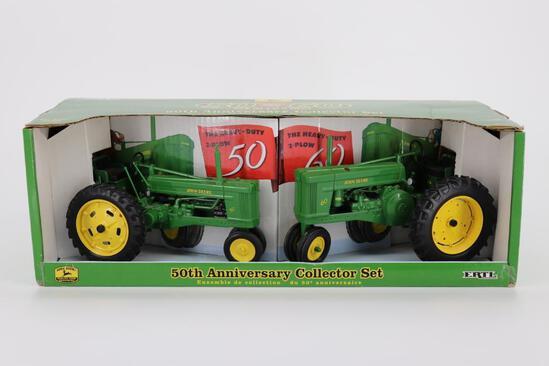 1/16 Ertl John Deere 50th Anniversary Set 50 & 60