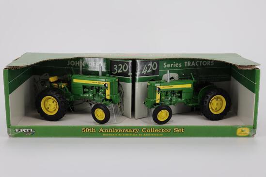 1/16 Ertl John Deere 50th Anniversary Set 320 & 420