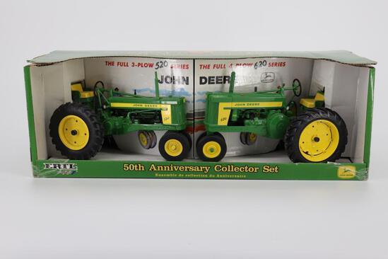 1/16 Ertl John Deere 50th Anniversary Set 520 $ 620